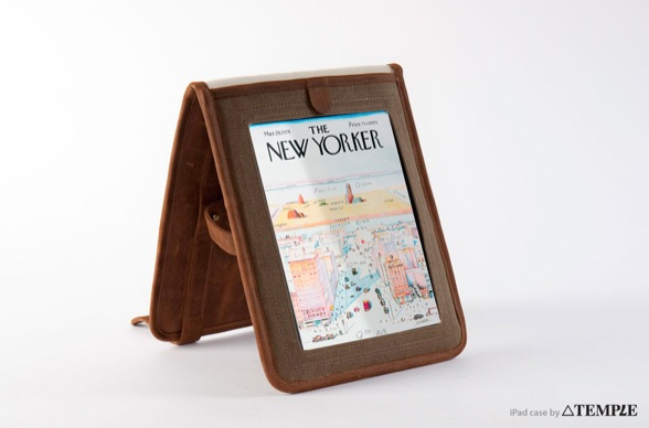 Indy iPad New Yorker holder