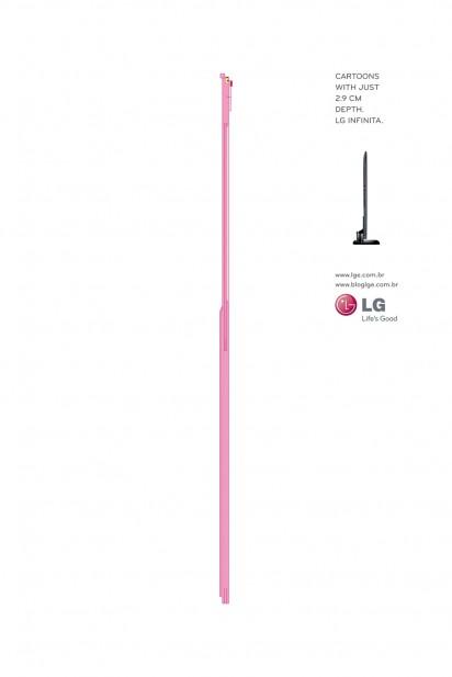 Pink Panther LG TV ad