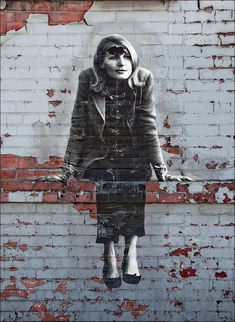 Daily Dose Woman on Wall
