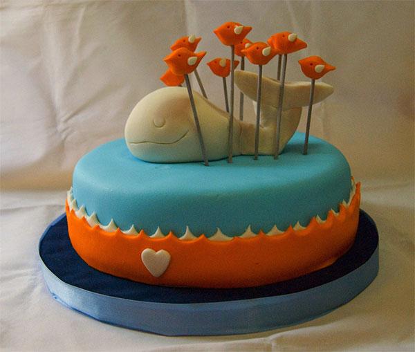 Twitter Fail Whale Cake Doobybrain dot com