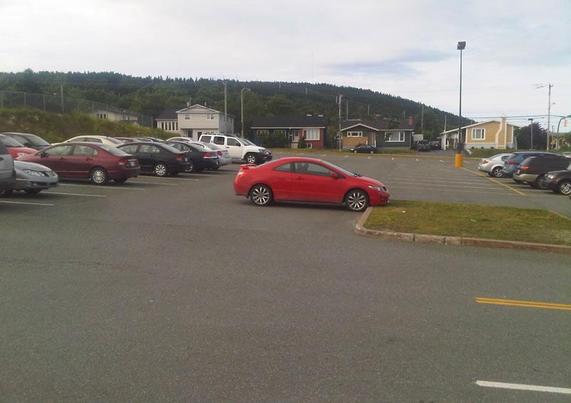 Bad parking Avalon Mall July 17 a