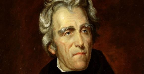 Andrew Jackson horizontal