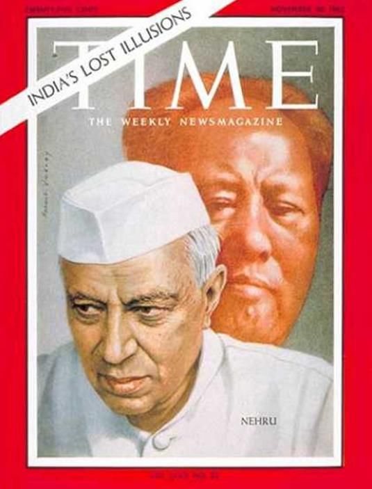 Jawaharlal Nehru Time magazine cover 1962