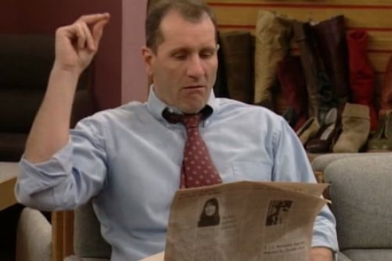 Ed O'Neill newspaper Married with Children