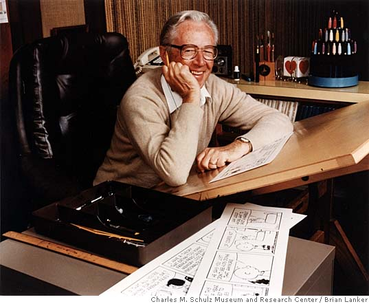 Charles Schulz by Brian Lanker