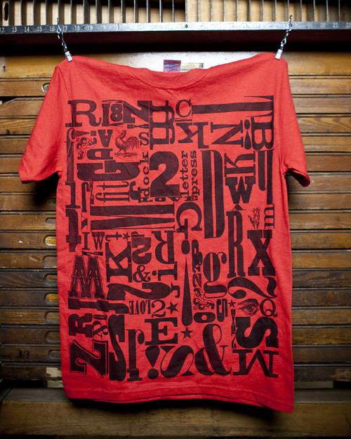 Letterpress Tshirt