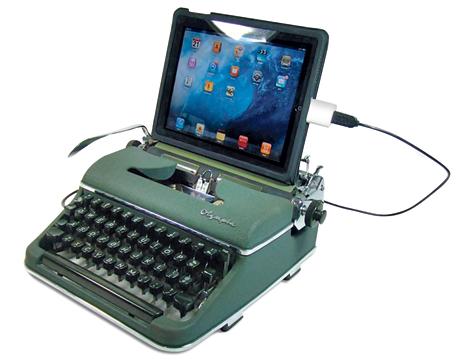 USB typewriter on VF