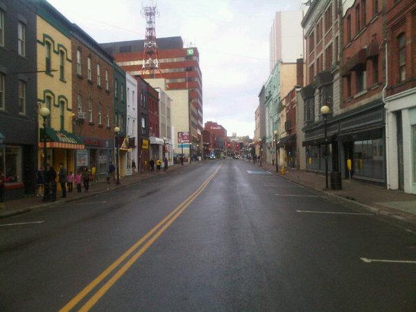 Empty Water Street