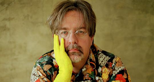 Matt Groening yellow glove