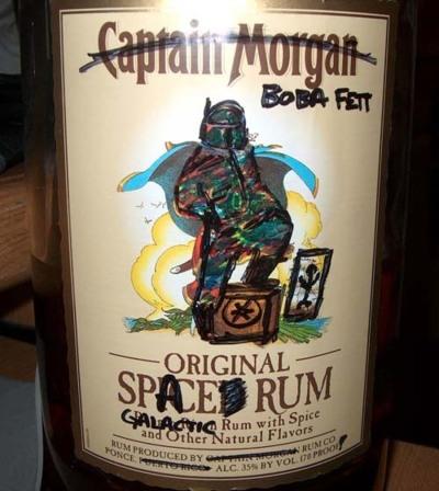 Boba Fett Space Rum