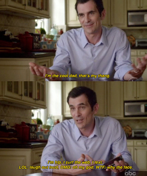 Phil Modern Family I am the cool dad