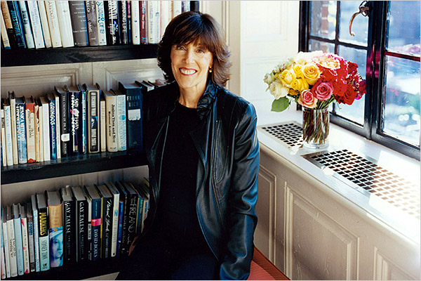 Nora Ephron - Katherine Wolkoff for The New York Times