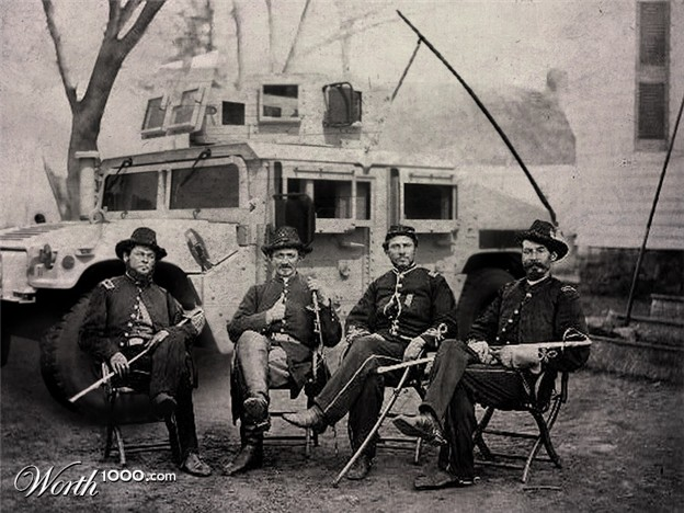 Humvees and the civil war from Worth 1000