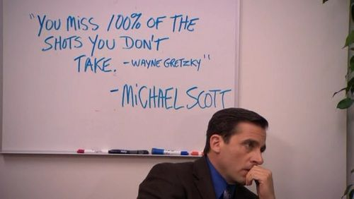 Wayne Gretzky or Michael Scott