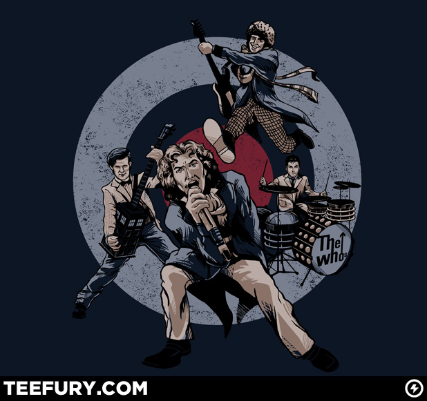 The Who Doctor Who Teefury