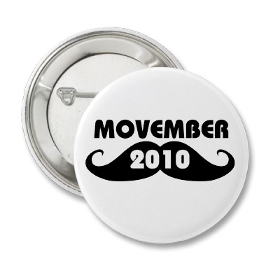 Movember 2010 button