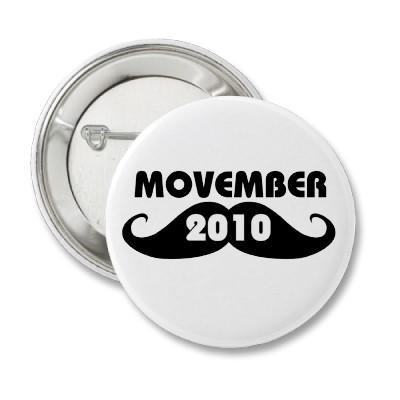 Movember 2010 button