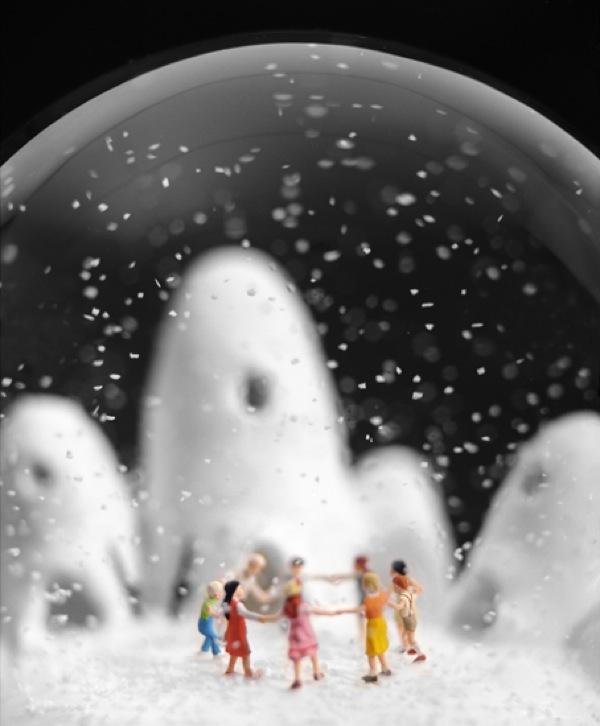 Snow globe by Walter Martin and Paloma Munoz