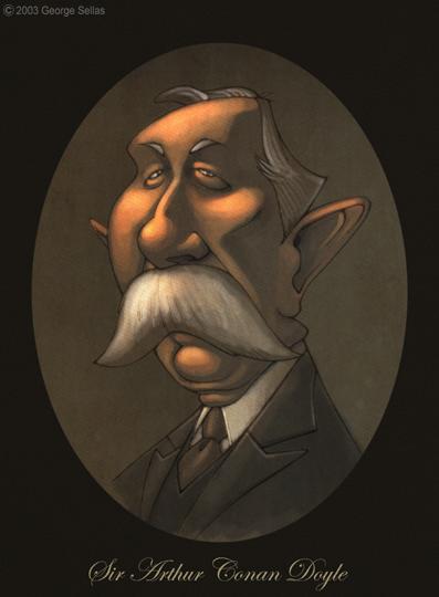 Arthur Conan Doyle illustration
