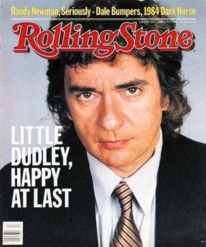 Dudley Moore on Rolling Stone cover