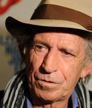 Keith Richards fedora