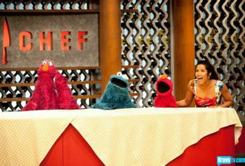Muppets from Sesame Street on Top Chef