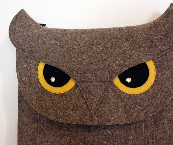 Owl Macbook Air 11 inch sleeve on Etsy