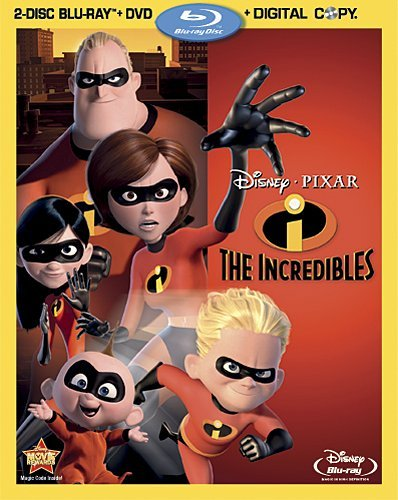 The Incredibles 2-disc BluRay