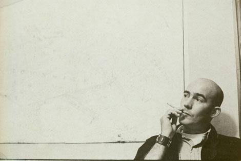 Hunter S. Thompson blank wall
