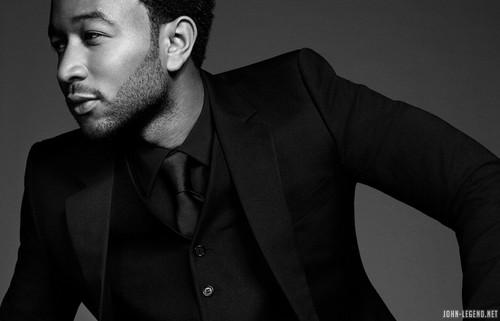 John Legend black and white