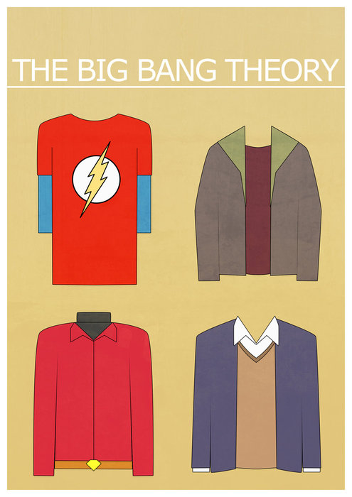 Big Bang theory costume art