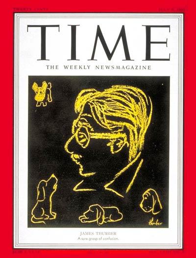 James Thurber Time magazine cover