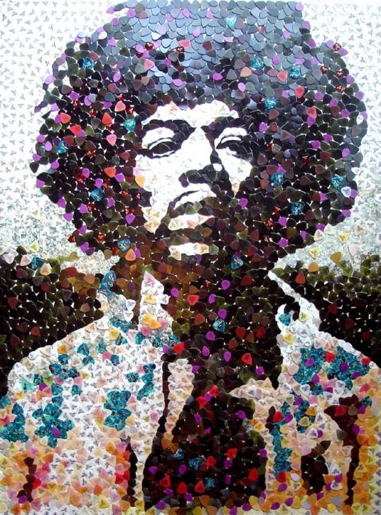 Jimi Hendrix 5000 guitar picks