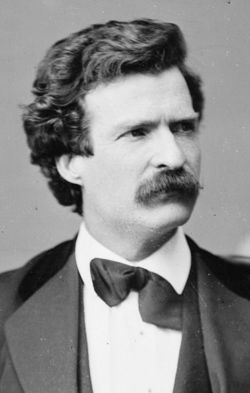 Mark Twain as a young man