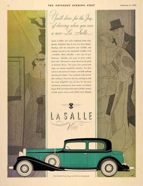 La Salle ad Saturday Evening Post