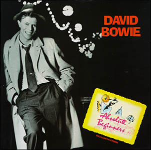 David Bowie Absolute Beginners single cover