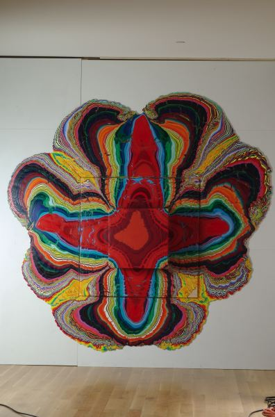 Holton Rower NYC painter pour