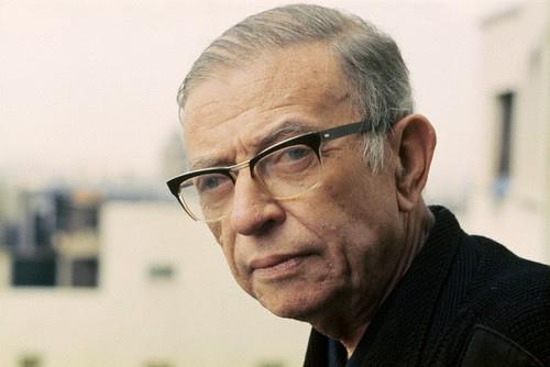 Jean-Paul Sartre colour