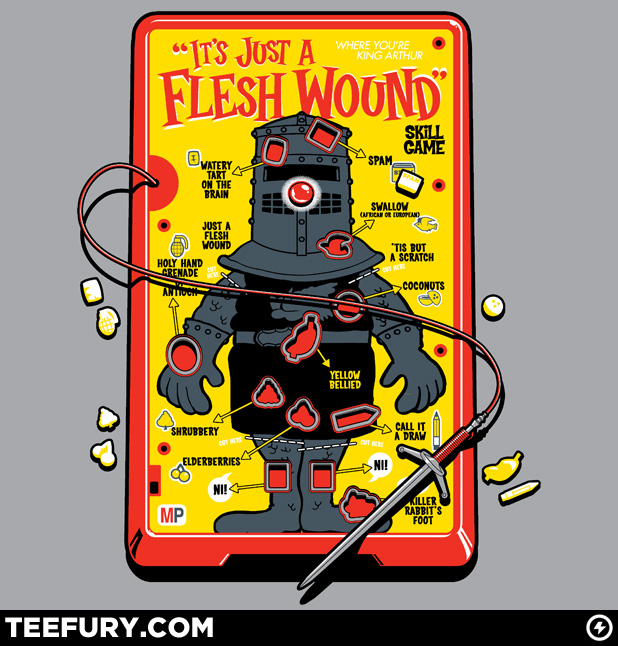 Monty Python Operation Tshirt TeeFury