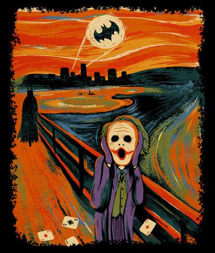 Scream parody Joker Batman