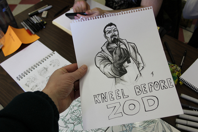 Kneel before Zod Free Comic Book Day