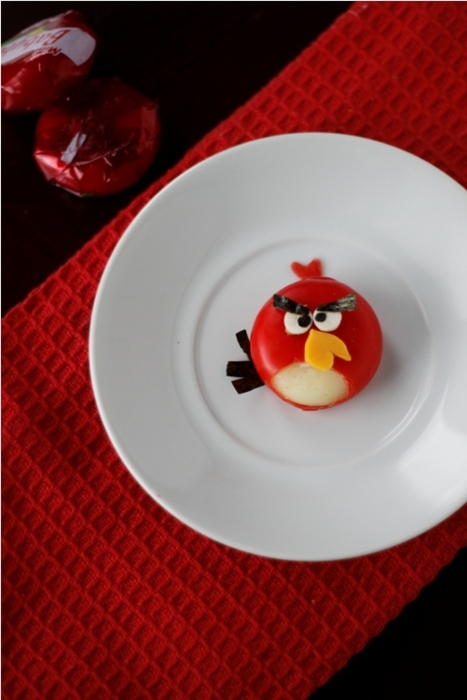 Angry Birds babybel cheese