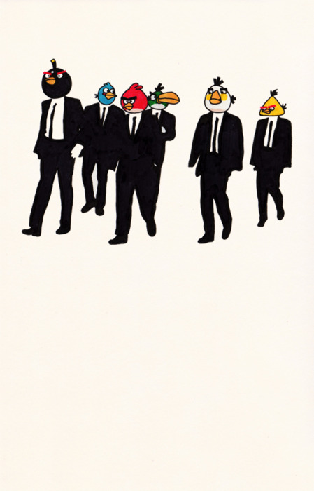 Reservoir Birds Quoteskine
