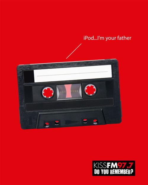 IPod I am Your Father Kissfm977