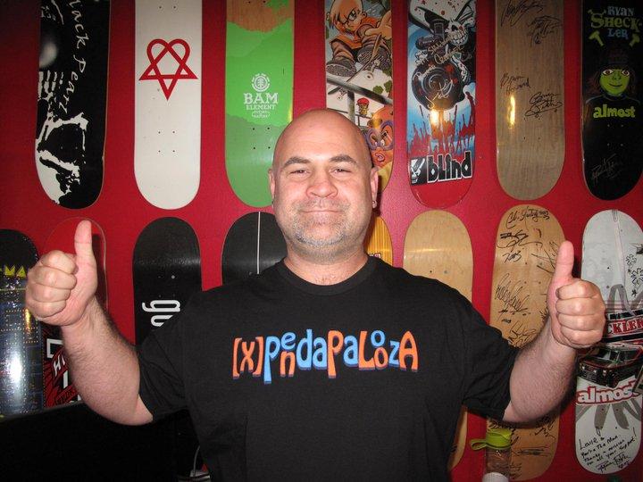Louie Baur Xpendapalooza shirt