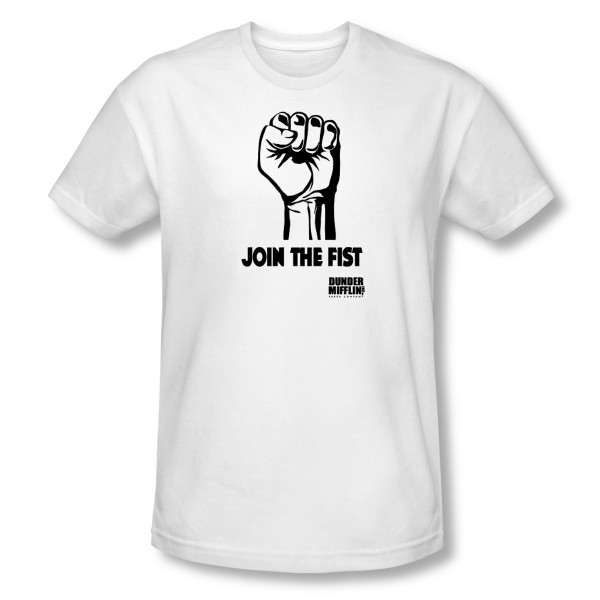 Join The Fist T-shirt The Office
