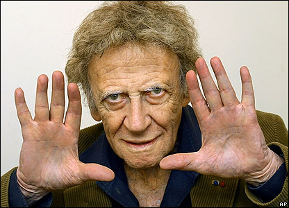 Marcel Marceau without mime makeup