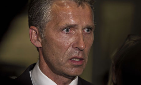 Norway Prime Minister Jens Stoltenberg AFP Getty