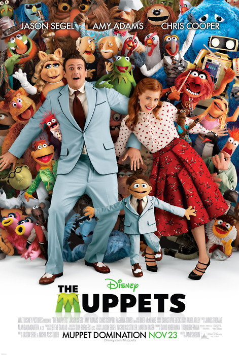 Muppets poster Muppet Domination Jason Segal
