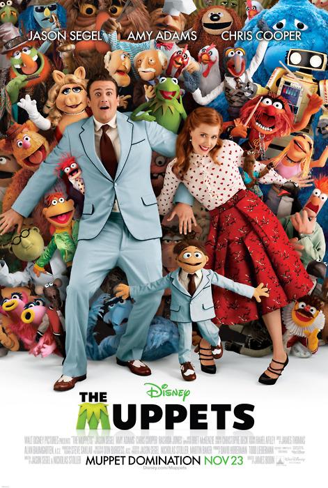 Muppets poster Muppet Domination Jason Segal
